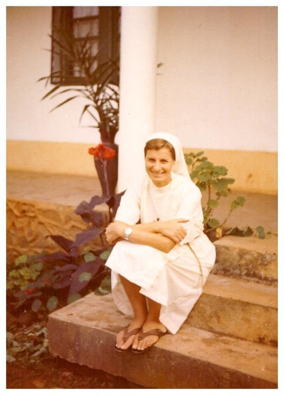 Sœur Marguerite-Marie Carsana-Chiarada au Cameroun