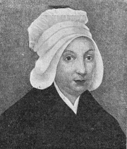 Portrait d'une Sœur de la Providence de Rouen avant la Révolution française