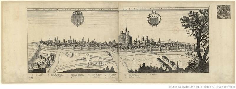 Profil de la ville épiscopale d'Amiens