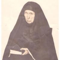 Mère Sainte Mathilde Raclot âgée de 97 ans