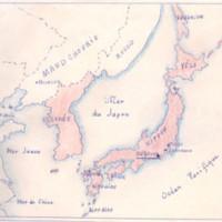 Carte des implantations au Japon